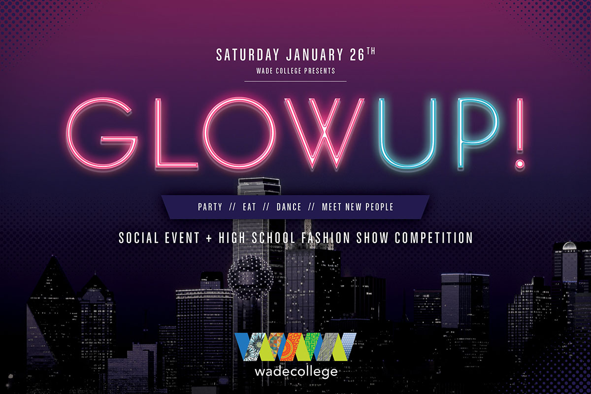 Glow Up - Social Event & High School Fashion Show Competition